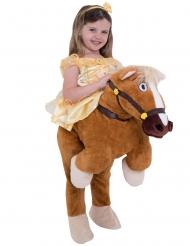 Belle™ Prinzessin mit Pferd für Kinder Morphsuits braun-gelb