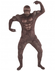 Gorilla™-Kostüm für Erwachsene Morphsuit™ braun