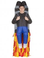 Jetpack-Huckepack-Kostüm Morphsuits™ bunt
