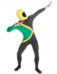 Jamaika-Herrenkostüm Weltreise Morphsuits™ schwarz-grün-gelb