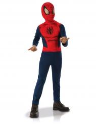 Spiderman™-Lizenzkostüm für Kinder rot-blau