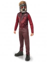 Star Lord™ Kostüm für Kinder braun-rot
