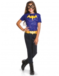 Batgirl™-Kinderkostüm für Mädchen Lizenzartikel schwarz-gelb