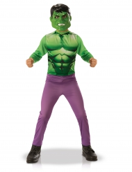Hulk™ Kinderkostüm Lizenzartikel grün-lila