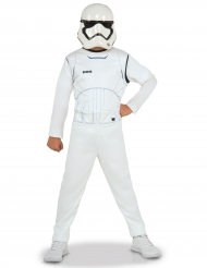 Star Wars™ Stormtrooper-Kinderkostüm Lizenzprodukt weiss-schwarz
