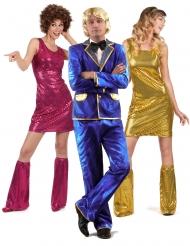 Disco Gruppenkostüm für Erwachsene
