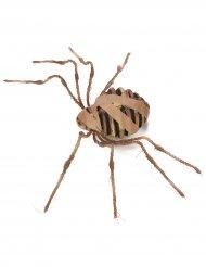Deko-Spinne mumifiziert Halloween braun 75 cm
