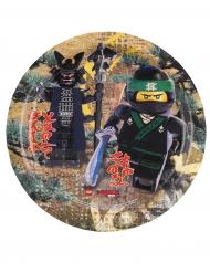 Lego Ninjago™-Pappteller Tischdekoration 8 Stück bunt 23cm