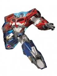 Transformers™-Folienballon mit Stab rot-blau