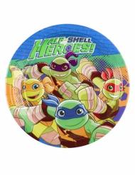 8 kleine Pappteller Ninja Turtles 18 cm