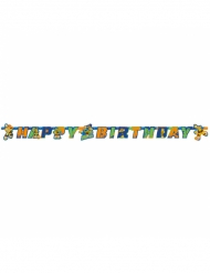 Happy Birthday Girlande Ninja Turtles 180 x 15 cm