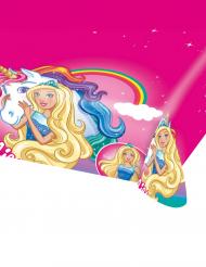 Kunststoff-Tischdecke Barbie Dreamtopia™ pink bunt 120x180cm