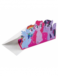 8 My Little Pony Einladungskarten