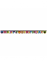 Happy-Birthday-Girlande Smiley World 182 x 12 cm