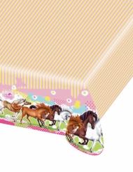 Charming Horses Plastiktischdecke 120 x 180 cm
