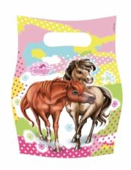 6 Geschenktüten Charming Horses