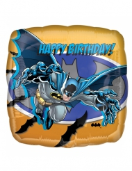 Batman Aluminium Ballon viereckig 40 X 40 cm