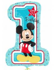 Geburtstagsballon Ziffer 1 Micky Maus™