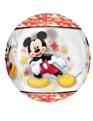 Aluminium Ballon Mickey rund