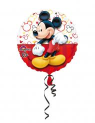 Aluminiumballon mit Micky Maus™ 43 cm