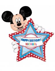 Personalisierbarer Aluminium-Ballon Mickey