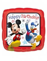 Aluminiumballon Disney Mickey eckig