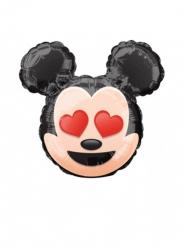 Kleiner Mickey Emoji Ballon aus Aluminium 22 cm