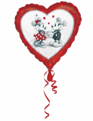 Aluminium-Ballon Mickey & Minnie™ Love 43 x