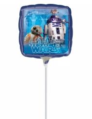 Aluminium-Ballon Star Wars™ bunt 23x23cm