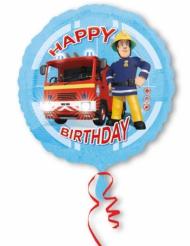 Alluminiumballon mit Sam der Feuerwehrmann™ 43 cm