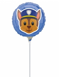 Paw Patrol™-Aluminum-Ballon Chase Lizenzartikel 23 cm bunt