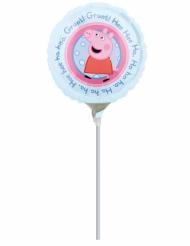 Kleiner Aluminium Ballon Peppa Pig 23 cm
