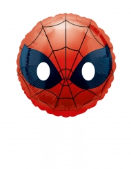 Kleiner Spider-Man Emoji Aluminium Ballon 23 cm
