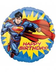 Alles Gute zum Geburtstag Superman Aluminium Ball 43 cm