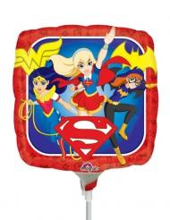 DC Super Hero Mädchen Aluminium eckiger Ballon 23 X 23 cm