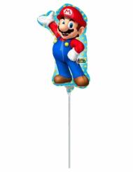 Kleiner Super Mario Aluminium Ballon 20 X 30 cm