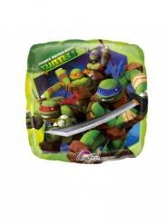 Kleiner quadratischer Ninja Turtles-Ballon 23 cm