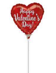 Kleiner roter Partyballon für den Valentinstag 23 cm