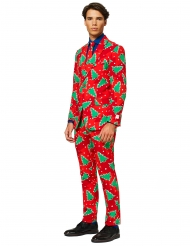 Mr. Christbaum Opposuits™-Anzug für Herren Weihnachten rot