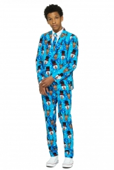 Mr. Winter Opposuits™-Anzug für Teenager bunt