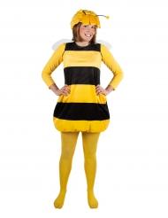 Biene Maja™-Lizenzkostüm für Damen gelb-schwarz