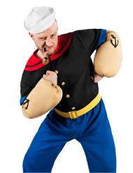 Popeye™-Lizenzkostüm für Erwachsene Seemann bunt