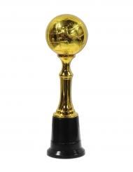 Fussball-Gewinner Pokal Fanartikel für Sieger gold 21cm