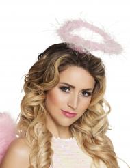 Heiligenschein-Engel Accessoire für Damen rosa