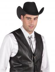 Sheriff Kette für Erwachsene silber
