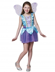 Traumhaftes Feenkostüm für Mädchen blau-lila