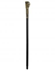 Pharao-Zepter Zubehör für Ägypter schwarz-gold 82cm