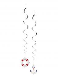 2 Matrosen Hängespiralen 85 cm