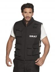 SWAT-Weste Polizei-Uniform für Herren schwarz