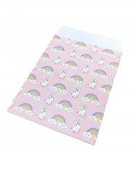25 Papiertüten mit Baby Einhorn 17 x 13 cm